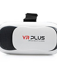 VR Plus 3D Virtual Reality Glasses With Interpupillary Distance Adjustment Button for 4.5 - 6 inch Smartphones