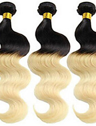 Ombre Hair Weaves Brazilian Texture Body Wave hair weaves