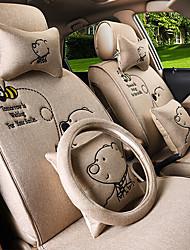 almofada bonito carro cartoon por quatro temporadas