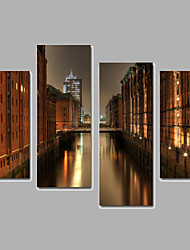 Architecture / Landscape Canvas Print Four Panels Ready to Hang,Any Shape