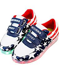 niños 'zapatos de las zapatillas de deporte / sandalias de cuero sintético deportivo / casual / de la manera al aire libre LED de color azul