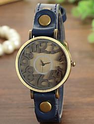 oco relógio ocasional digital da mulher