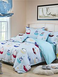Novelty Polyester 4 Piece Duvet Cover Sets