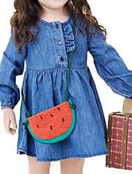 Girl's Blue Dress,Ruffle Cotton Summer / Spring