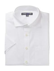 JamesEarl Herren Hemdkragen Kurze Ärmel Shirt & Bluse Weiß - DA182022825