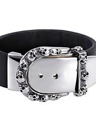 Bracelet- enCuir-Vintage / Soirée / Travail / Décontracté-Cuir