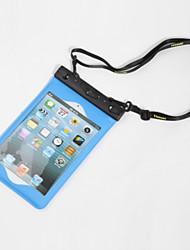 caja seca material de PVC resistente al agua para iPhone / Samsung y el otro teléfono celular 22 * 15 * 5 (colores aleatorios)