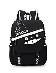 Bolsa Inspirado por Meu Vizinho Totoro Gato Anime Acessórios de Cosplay Bolsa / mochila Preto Tela Masculino / Feminino