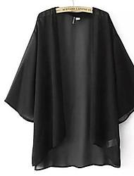 Women's Loose Cardigan Chiffon SunScreen Plus Size Top