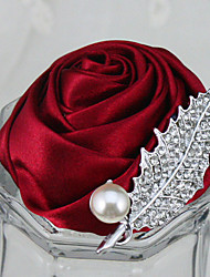 Rhinestone Fashion Bride Boutonnieres