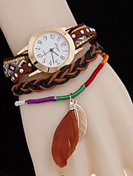 L.WEST 2016 fashionable ms angel wings of bracelet watch Cool Watches Unique Watches