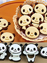 1 Set Little Panda Shape Sandwich Mold Bread Cake DIY Mold Maker Cutter Craft