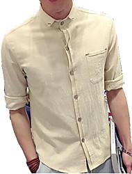 DMI™ Men's Lapel Solid Casual Shirt(More Colors)