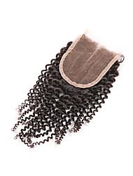 Cheveux humains Fermeture