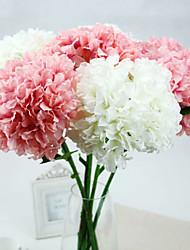 A Branch Aritificial Silk Hydrangea Multicolor Optional 1pc/set