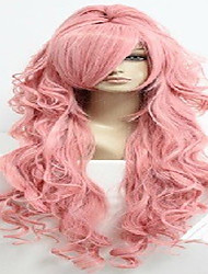 90cm vocaloid-megurine luka cosplay rose costume perruque Anime + une queue de cheval