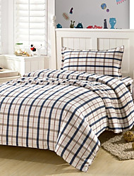 Stripe Cotton 3 Piece Duvet Cover Sets