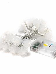 luz quente 2m levou-20 brelong branco ao ar livre do feriado do natal decoração string (DC4.5V)