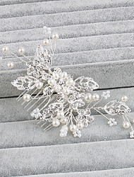 Women's Pearl Headpiece-Wedding / Special Occasion / Casual / Office & Career / Outdoor Hair Combs 1 Piece