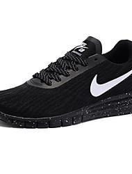 Sapatos Corrida Masculino Preto / Branco / Preto e Branco Tule / Tecido