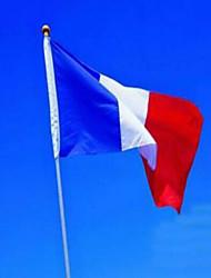 французский флаг 3 * 5 футов. полиэстер флаг 90 * 150см большие баннеры флаг Франции баннер