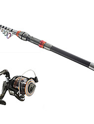 3.3 Carbon Sea Fishing Medium Fishing Rod & Reel Combos Fishing Reel DE40 Spinning Fishing Reels