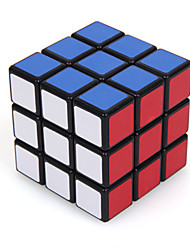 Magic Cube IQ Cube Shengshou Three-layer Speed Smooth Speed Cube Magic Cube puzzle Black Plastic