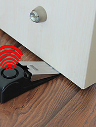 Door Stop Alarm Bell - Security Doorstop Wedge Siren Alert