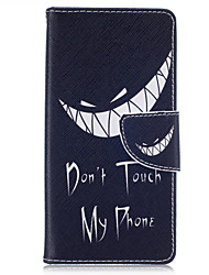 For Huawei Case / P9 Lite / P8 Lite Wallet / Card Holder Case Full Body Case Word / Phrase Hard PU Leather HuaweiHuawei P9 Lite / Huawei