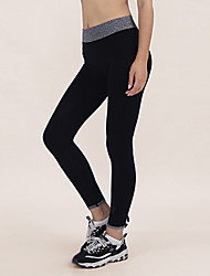 Damen Legging - Einfarbig Polyester Medium