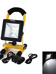 YouOKLight®  20W 1700lm  White LED Flood Light Rechargeableand  and AU Power Supply - Black + yellow (AC110/220V)