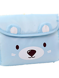 Cute Cartoon Bear Cosmetic Bag Makeup Clutch Bags Children Small Wallet Coin Purse Handbag