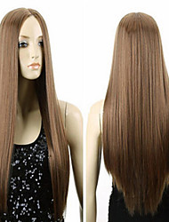 The New Fashion Wig Brown Points in Long Straight Hair Wig