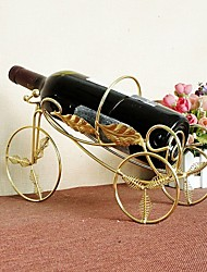 Metal Tricycle  Wine Bottle Holder Decorated Wedding Supplies Stainless Steel Metal Crafts Barware Wine Gift