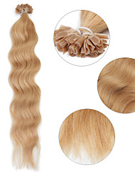 "Neitsi 20"" 1g/s Keratin Fusion U Nail Tip Natural Wave 100% Human Hair Extensions 27#"