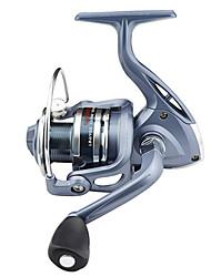 Moulinet pour pêche Moulinet spinnerbaits 5.5:1 6 Roulements à billes Gaucher Echangeable DroitierPêche en mer Pêche d'appât Pêche sur