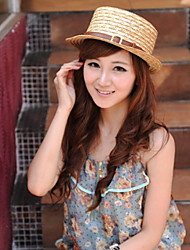 Women Straw Bow Sun Floppy Hat,Cute / Party / Casual Spring / Summer / Fall