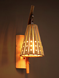 Southeast Asia Antique Creative Bamboo Hand-made Wall Lamps Countryside Retro Classic Lights