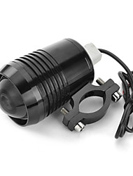 exLED 10W White Electric/Motorcycle LED Headlight 12-24V