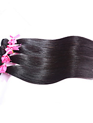 Grade 5A 4Pcs/Lot Indian Virgin Remy Hair Straight Unprocessed Porotea Hair Products 100% Human Hair Weaves