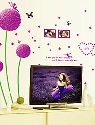 Fashion / Floreale Adesivi murali Adesivi aereo da parete,PVC 45*60cm(17.7*23.6 inch)