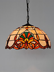 12inch Retro Tiffany Pendant Lights Glass Shade Living Room Dining Room light Fixture