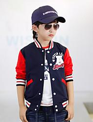 2016 New Spring & Fall Boys Jackets Outwear For Children Brand Kids Coats For Boys Baseball Coats
