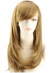 peluca del volumen y la efedra larga peluca de la pera de dibujos animados de color vender como pan caliente