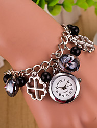 Women's Sport Watch Dress Watch Fashion Watch Wrist watch Quartz Alloy Band Charm Multi-Colored