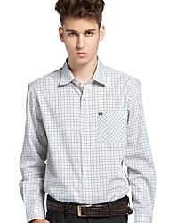 JamesEarl Herren Hemdkragen Lange Ärmel Shirt & Bluse Weiß - DA162029326