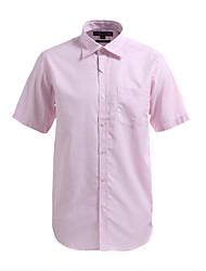 JamesEarl Herren Hemdkragen Kurze Ärmel Shirt & Bluse Rosa - M21X5000302