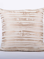 Stripe Jacquard  Cushion Cover-Gold