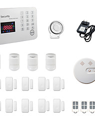 433MHz SMS / Phone 433MHz GSM Learning Code Home Alarm Systems