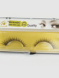 1 Pairs Animal   False Eyelashes